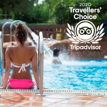 Stel Camping & Bungalows Resort ha obtingut el Travellers's choice 2020 emès per Tripadvisor