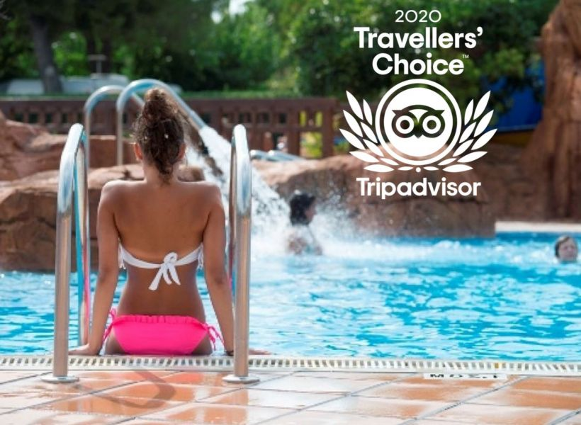 Camping Stel & bungalows Resort has been awarded with the Travelers's choice 2020 reward by Tripadvisor.